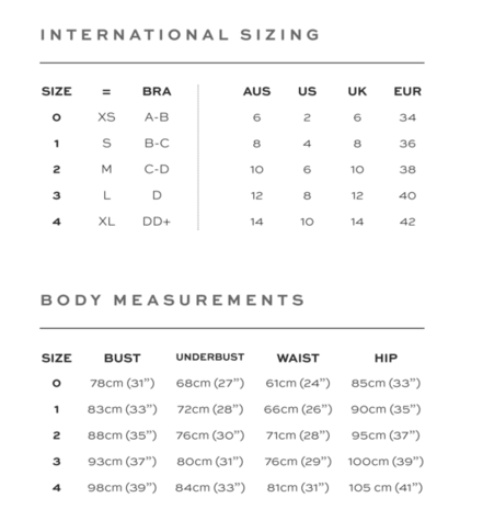 size chart palm swim