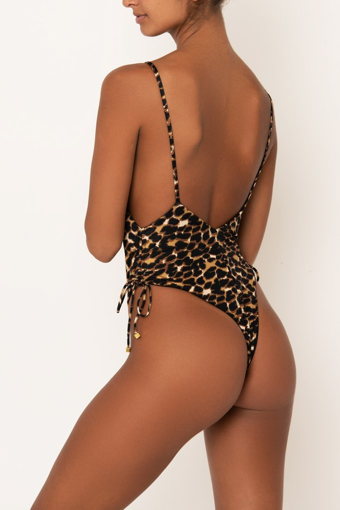 Ambre One Piece Leopard Sommer Swim