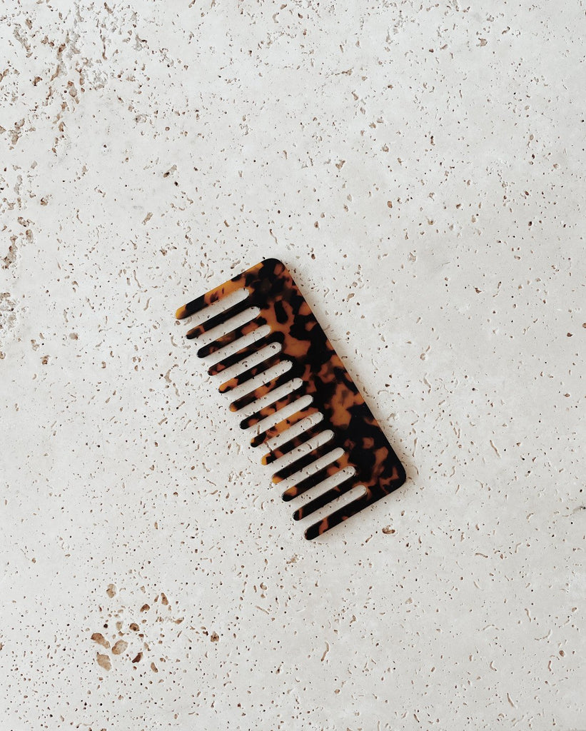 RYLIE HAIR COMB | LEOPARD