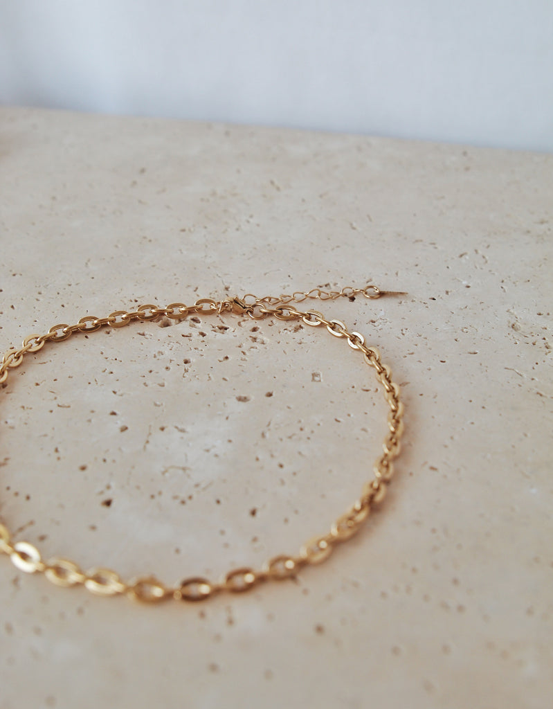 KIM Necklace | 18K Gold Plated