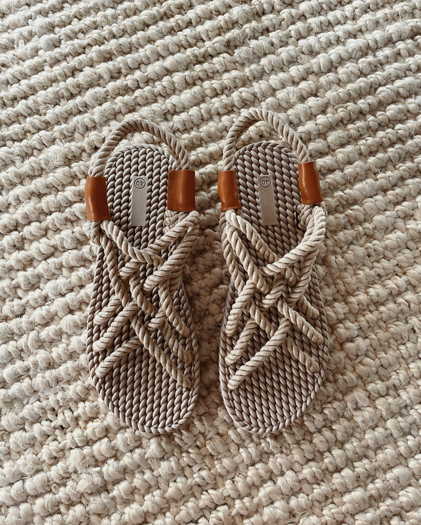 THE ROPE SANDAL | MADE TO ORDER