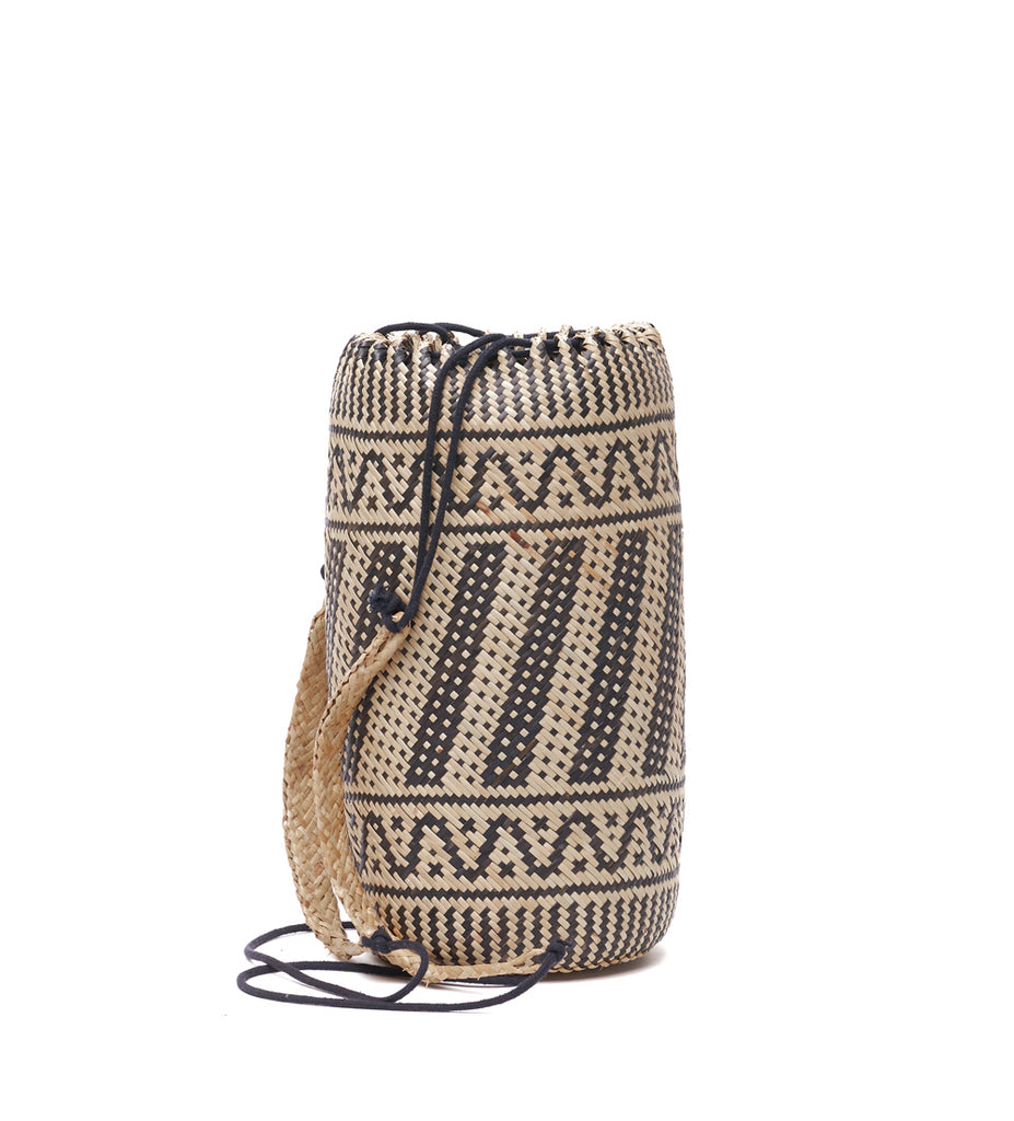Bali Rattan Rucksack the bare sea