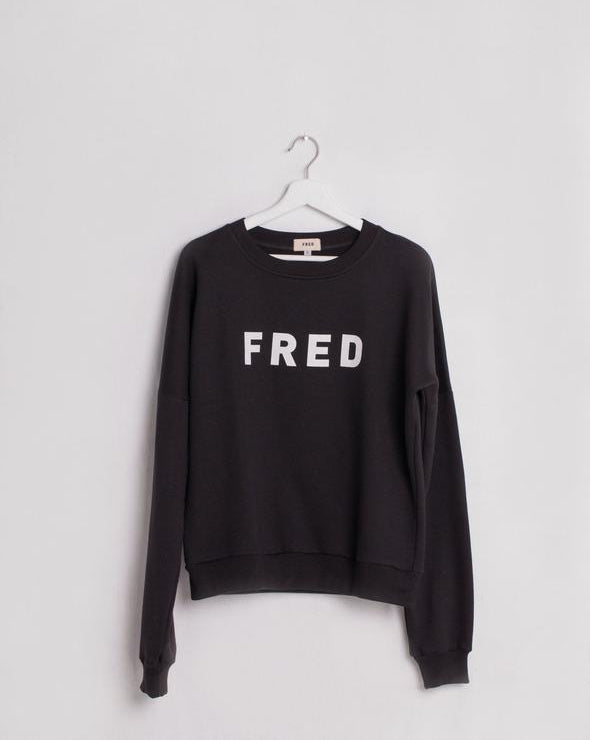 Fred Logo Sweatshirt the bare sea