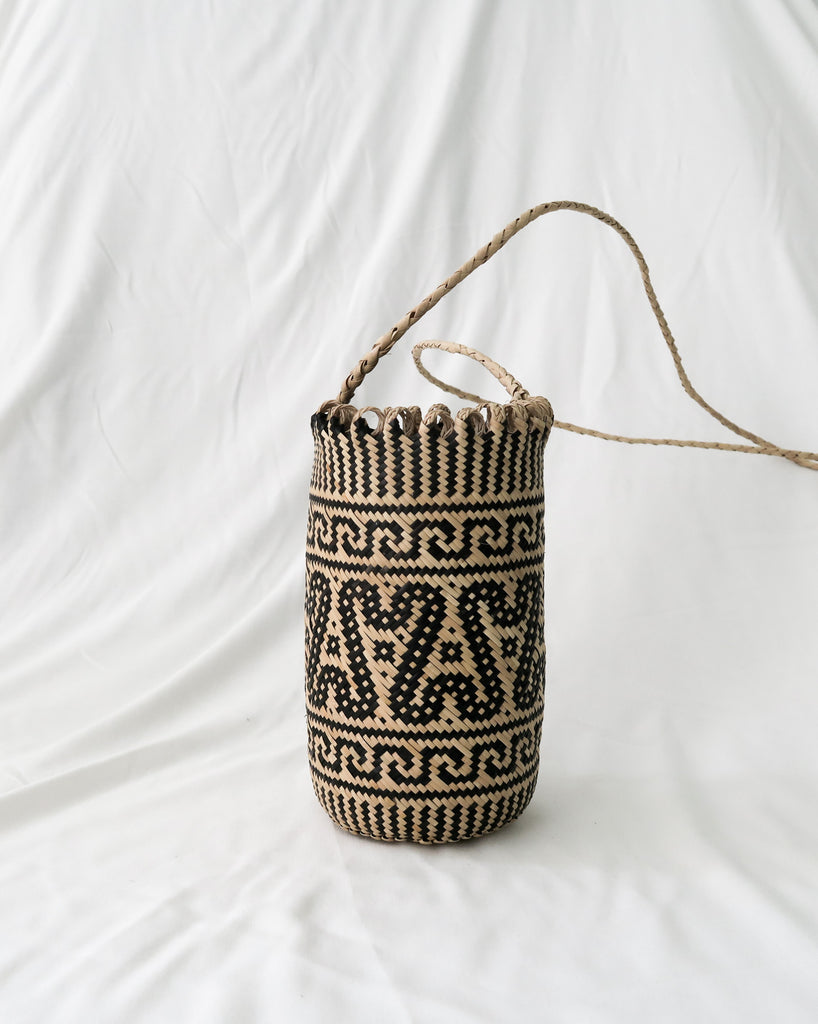 rattan bali bag the bare sea