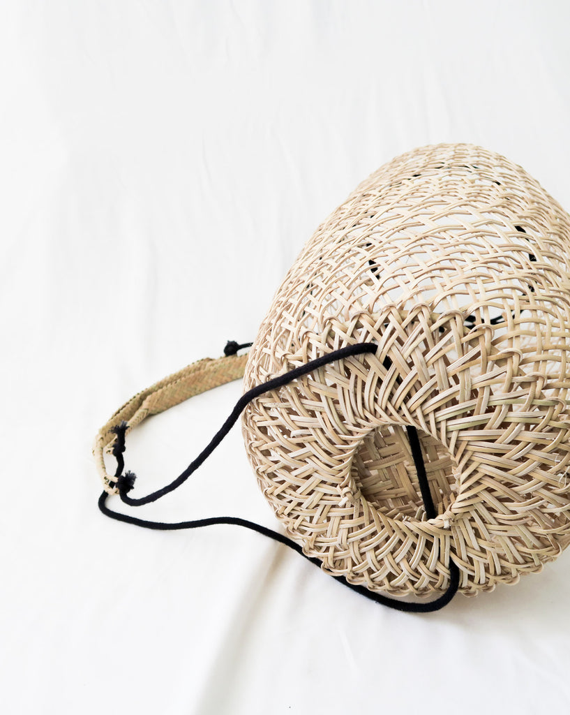 bali rattan backpack the bare sea