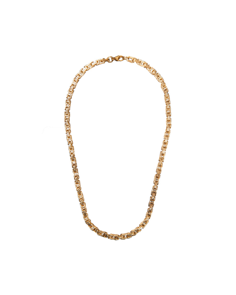 the bare sea 18K gold plated sterling silver adriana necklace