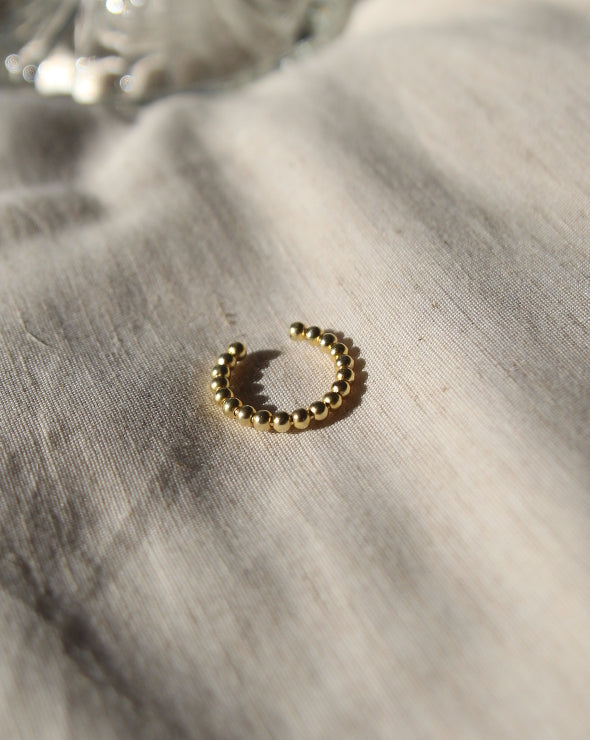 Bead Ring | 18K Gold Plated