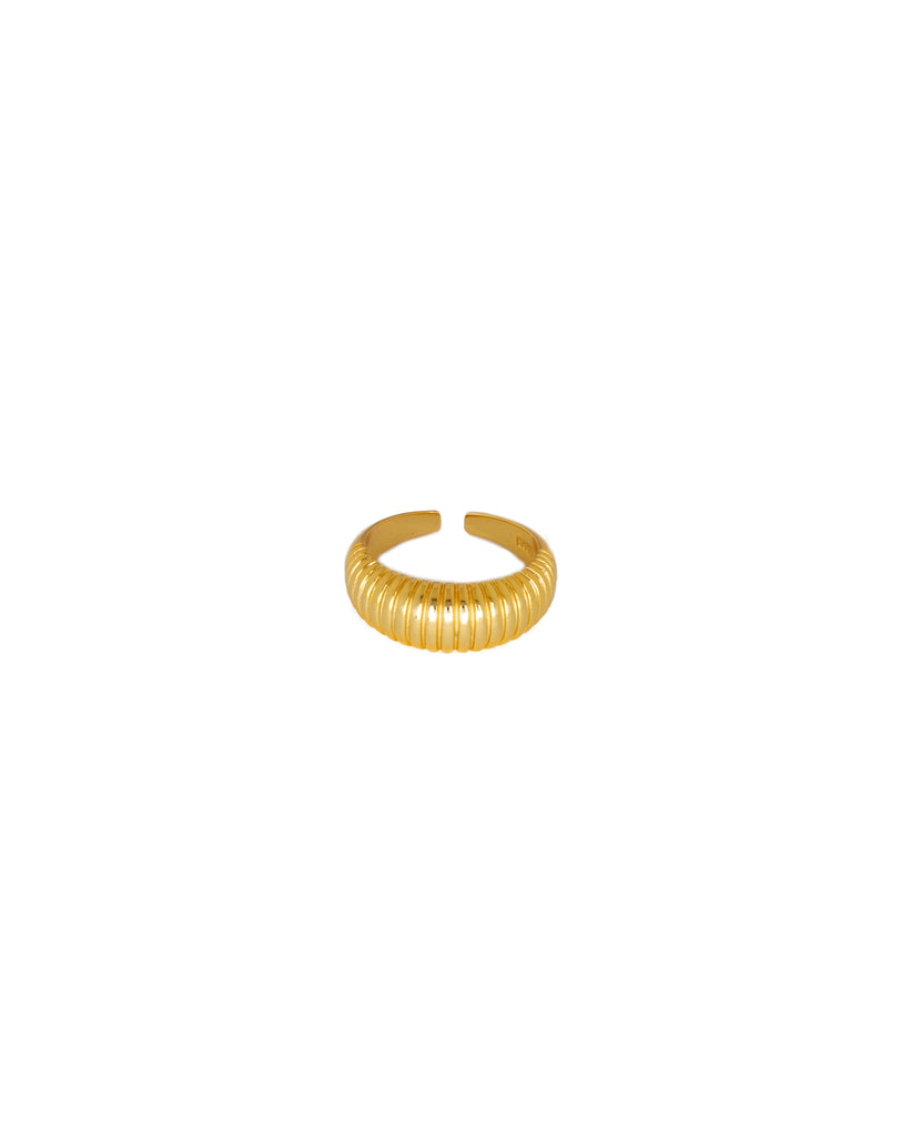 Wave Ring | 18K Gold Plated