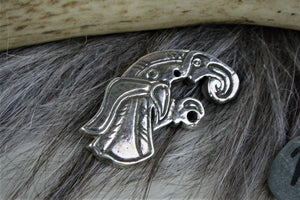 Gotland Bird Brooch in Sterling Silver