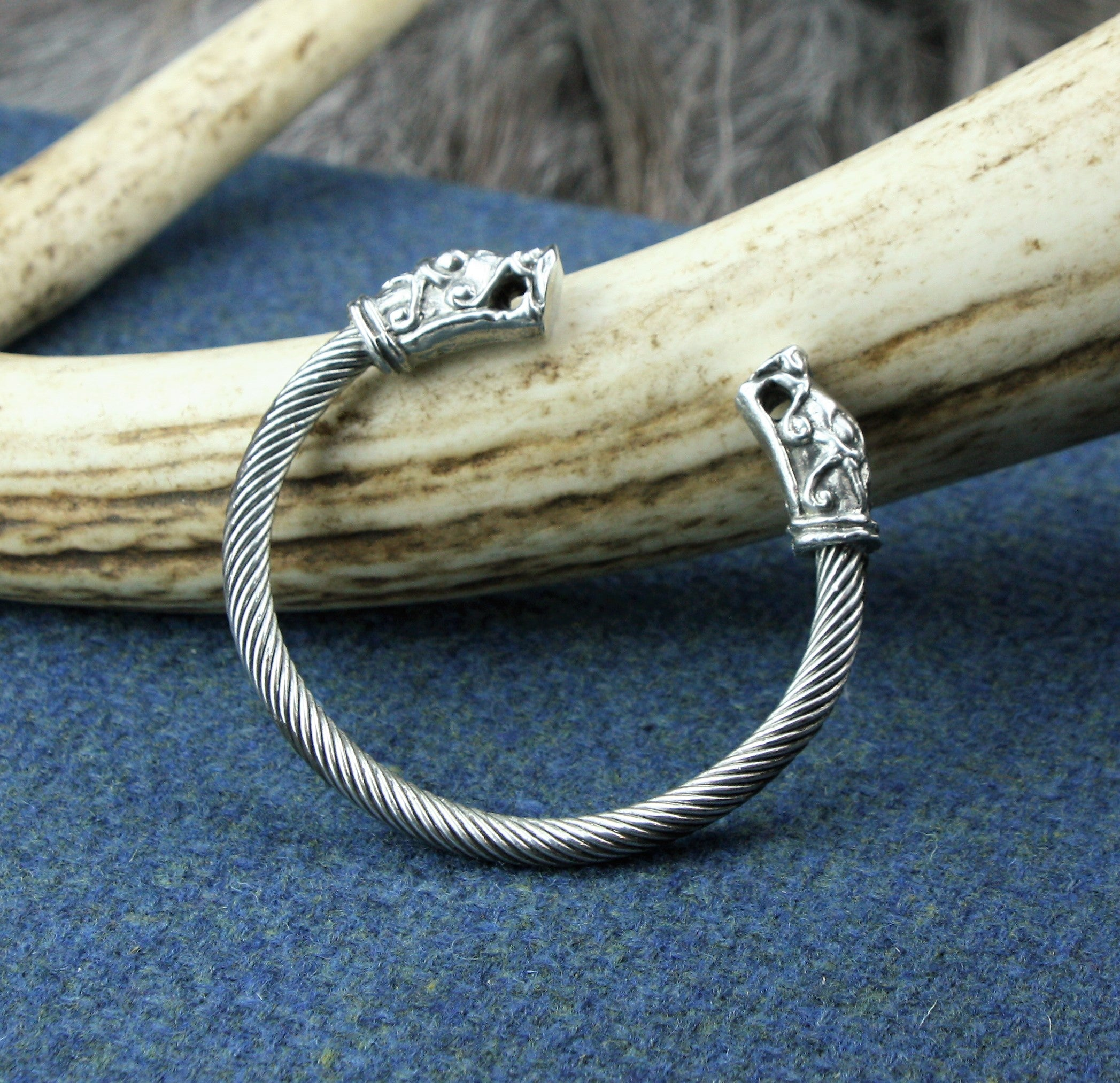Pewter Viking Bracelet