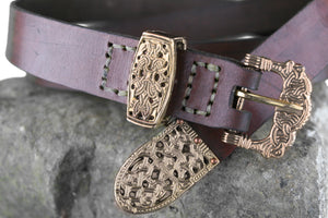 Gokstad Belt with Bronze Fittings