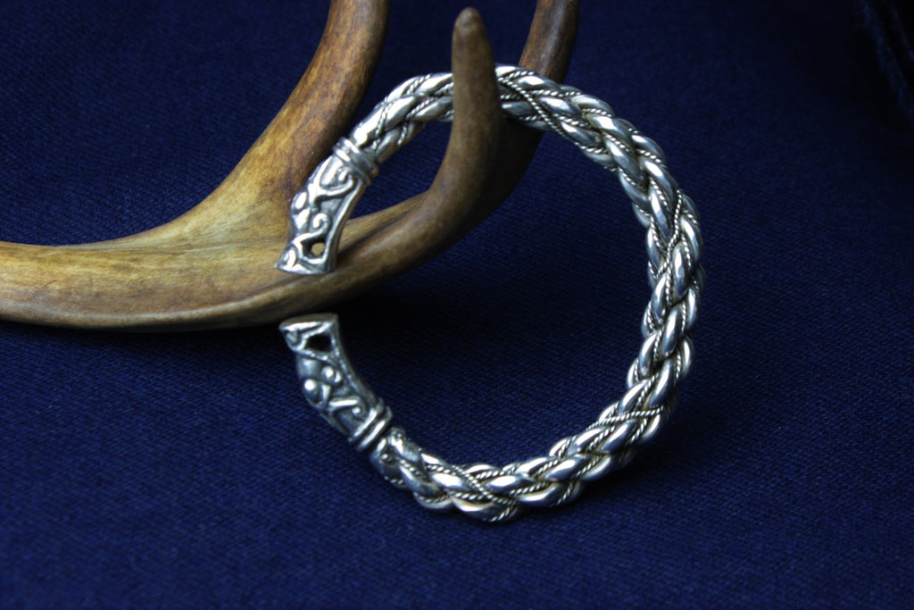 Gotland Armring in Sterling Silver