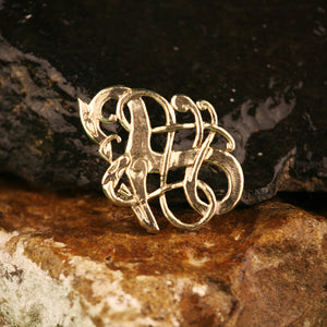 Urnes Style Brooch 2 in Bronze