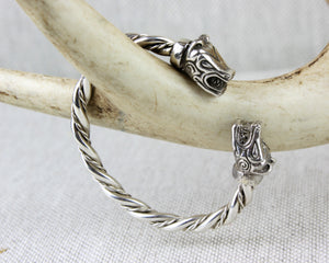 Bjorn Arm Ring in Sterling Silver