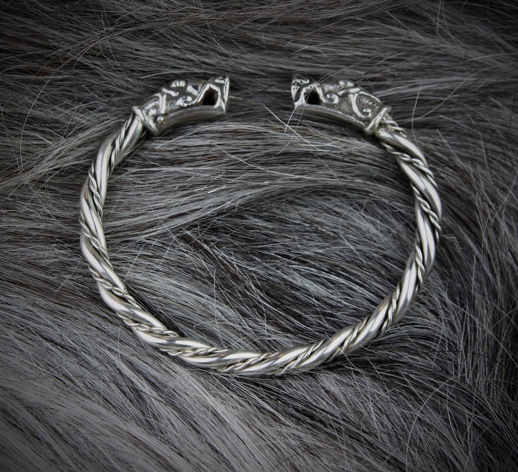 Sigurd armring in Sterling Silver