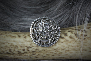 Pitney Brooch in Sterling Silver