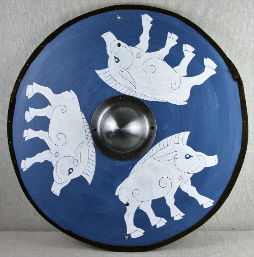 Blue Boar Shield