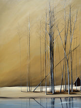 "Load image into Gallery viewer, ""Naked Trees #11"" Giclee canvas print by Thomas Andrew"