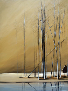 """Naked Trees #11"" Giclee canvas print by Thomas Andrew - Thomasandrewartwork"