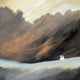 """A Windy Day"" Giclee canvas print by Thomas Andrew - Thomasandrewartwork"