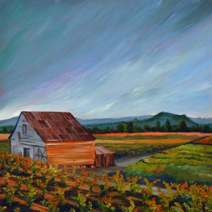 """Alexander Valley #2"" print by Thomas Andrew - ThomasAndrewArtwork"