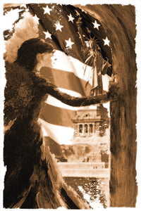 """Angel of America"" Giclee canvas print by Thomas Andrew - ThomasAndrewArtwork"