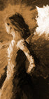 """Angel of Strength"" sepia / Giclee canvas print by Thomas Andrew"