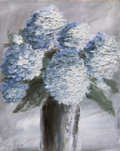 "Load image into Gallery viewer, ""Blue Hydrangea #1"" Giclee canvas print by Thomas Andrew"