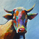 """Sweet Eyes"" Giclee canvas print by Thomas Andrew - Thomasandrewartwork"