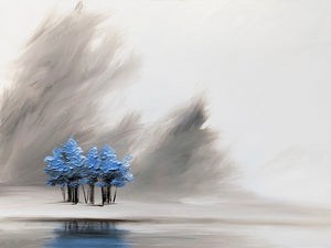"""Dreaming of Blue Trees"" print by Thomas Andrew - Thomasandrewartwork"