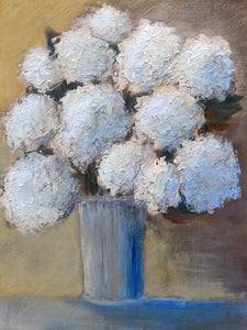 """Hydrangeas Design 08"" print by Thomas Andrew - Thomasandrewartwork"
