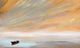 """Golden Sunset on the Water"" Narrow / Giclee canvas print by Thomas Andrew - Thomasandrewartwork"
