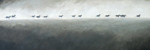 """Horses in the Mist"" print by Thomas Andrew - Thomasandrewartwork"