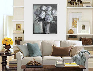 """Hydrangeas Design 03"" Rustic / print by Thomas Andrew"