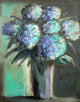 """Hydrangeas Design 03"" Giclee canvas print by Thomas Andrew - Thomasandrewartwork"