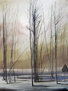 """In the Sticks"" Giclee canvas print by Thomas Andrew - ThomasAndrewArtwork"