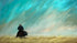 """Journey Along the Grassy Field"" Giclee canvas print by Thomas Andrew"