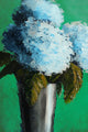 """Light Blue Hydrangeas"" Giclee canvas print by Thomas Andrew - Thomasandrewartwork"