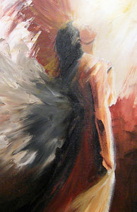 """Overwhelming Love"" (Angels series) - Signed canvas print by Thomas Andrew - Thomasandrewartwork"