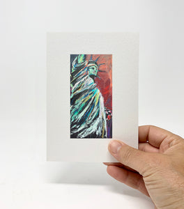 "5 x 7 Miniature / ""Let Freedom Ring"" V2 by Thomas Andrew - Thomasandrewartwork"