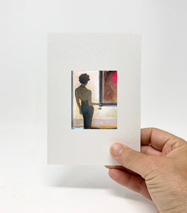 "5 x 7 Miniature / ""Lost in the Art"" by Thomas Andrew - Thomasandrewartwork"