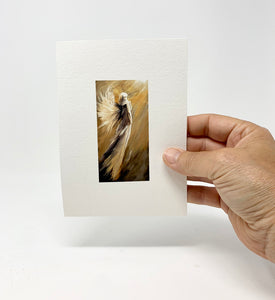 "5 x 7 Miniature / ""Up to Him"" by Thomas Andrew - Thomasandrewartwork"