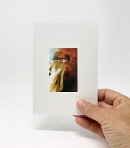"5 x 7 Miniature / ""Watching Over"" by Thomas Andrew - Thomasandrewartwork"
