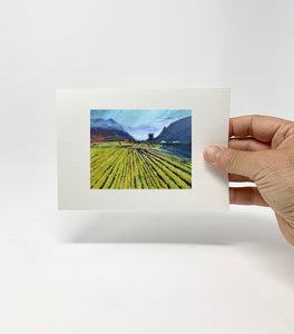 "5 x 7 Miniature / ""Wine Country #16"" by Thomas Andrew - Thomasandrewartwork"