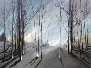 """Naked Trees #2"" Giclee canvas print by Thomas Andrew"