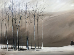 """Naked Trees #3"" Giclee canvas print by Thomas Andrew - Thomasandrewartwork"