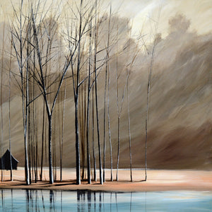 """Naked Trees #5"" Giclee canvas print by Thomas Andrew - Thomasandrewartwork"