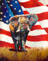 """One Nation Under God"" #1 (Elephant series) - Signed print by Thomas Andrew"