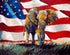 """One Nation Under God"" #2 (Elephant series) - Signed print by Thomas Andrew"