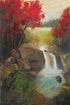 """Our Waterfall"" Giclee canvas print by Thomas Andrew"